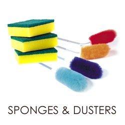 DUSTERS & SPONGES